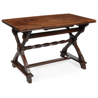 Oak Centre Table Designed by Lorimer for Liberty & Co