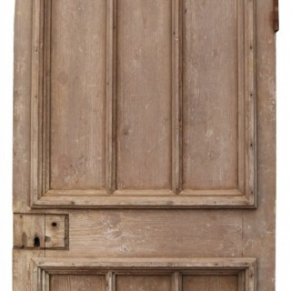 A Reclaimed Arched Exterior Door