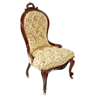 Victorian Rosewood Lady's Chair