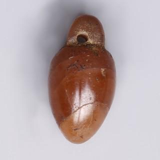 Egyptian Carnelian Heart Amulet