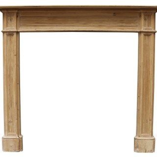 A Reclaimed 19th Century Timber Fire Surround