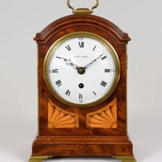 John Horn. A Small Regency Period Mahogany Mantel Clock