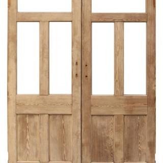A Set of Reclaimed Interior Room Dividing Doors