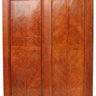 Reclaimed 1920's Walnut Wall Panelling & Fireplace 10.3m (33 ft)