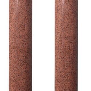 Two Reclaimed Granite Columns 269 cm (8'8