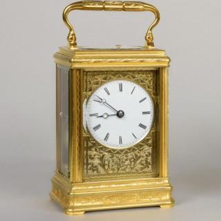 Carriage Clock by DROCOURT À PARIS, N° 11108