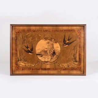 A Large Marquetry Panel by Philippe Mignon