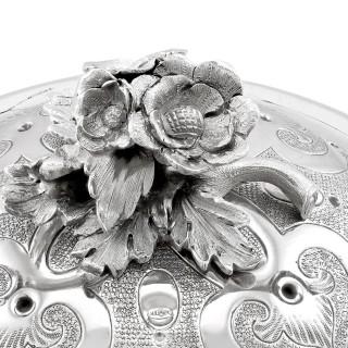 Sterling Silver Spirit Kettle - Antique Victorian (1866)