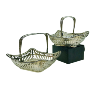 Pair of Silver Baskets