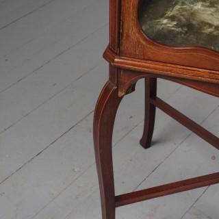 Victorian Inlaid Mahogany Display Table / Whatnot