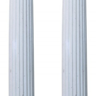 Two Reclaimed Ionic Order Columns 250cm (8'2
