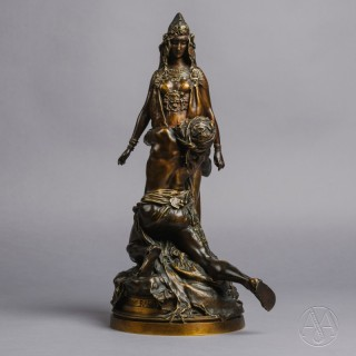 'Carthage' – A Patinated Bronze Group