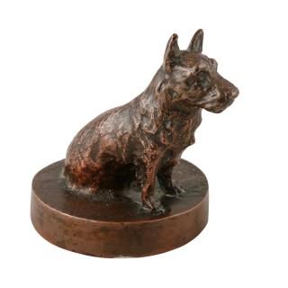 Late 19th Century Bronze Terrier