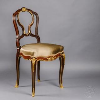 A Louis XV Style Salon Chair