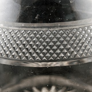 Georgian Triple Ring Neck Decanter