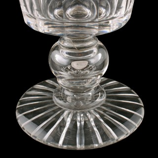 Large Victorian Coin Goblet