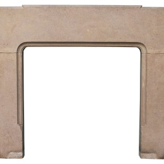A Reclaimed 1920s Fossilised Limestone Fire Surround