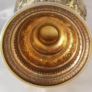 Antique Silver Wine Ewer