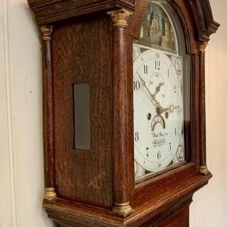 Rocking Ship Longcase Clock