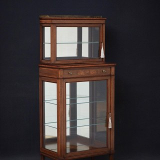 Edwards and Roberts Display Cabinet