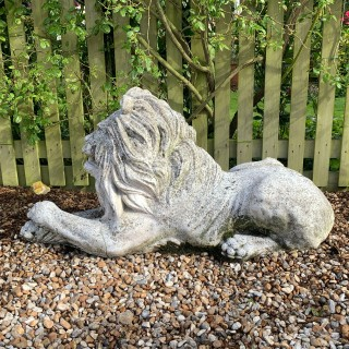 Large Stone Lion
