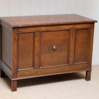 Panelled Oak Coffer