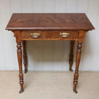 Late 19th Century Ash Side Table