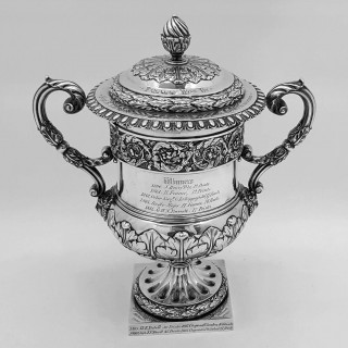 Antique Silver Cup and Cover