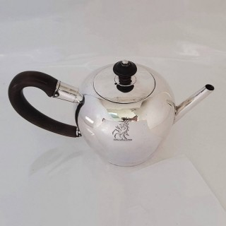 George I Silver Teapot