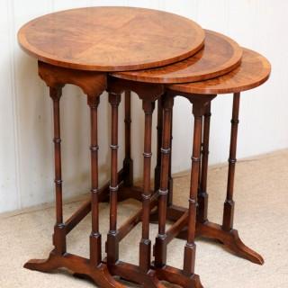 Walnut Nest Of Tables
