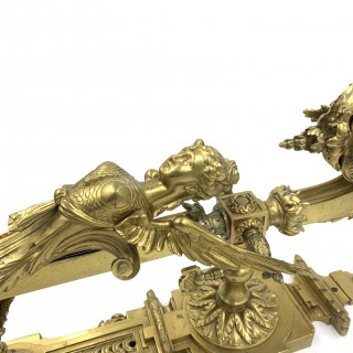 PAIR OF 19TH CENTURY GILT WALL SCONCES