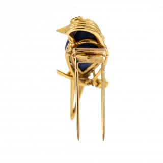 Cartier kingfisher dress clip