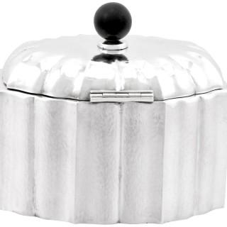 Austrian Silver Tea Caddy - Antique Circa 1955