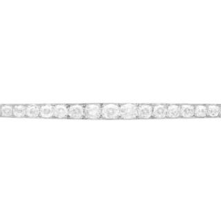 6.08ct Diamond and Platinum Bar Brooch - Antique French Circa 1910