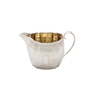 Antique Victorian Sterling Silver Cream / Milk Jug 1894