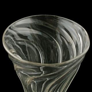 Short Georgian Ale Glass