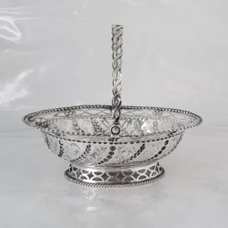 George III Silver Sweetmeat Basket