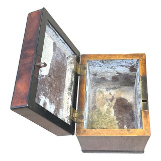 Georgian Mahogany Oblong Tea Caddy