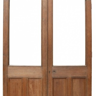 A Set of Reclaimed Arched Oak Doors