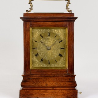 J. PENNINGTON, ST MICHAEL'S ALLEY, CORNHILL. AN EXCEPTIONAL ENGLISH FOUR-GLASS ROSEWOOD CARRIAGE CLOCK