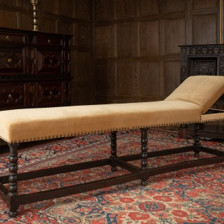 Charles II day bed / bench