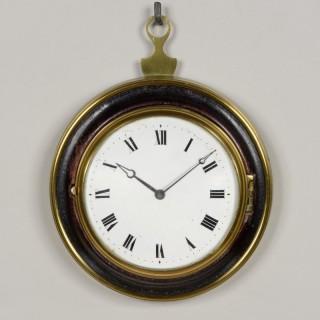 REID AND AULD N° 1100. A GOOD SCOTTISH REGENCY SEDAN CLOCK
