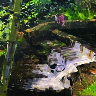 Dappled Light, Crowden Weir
