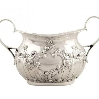 Antique Sterling Silver 3 Piece Bachelor Tea Set 1915