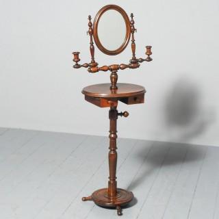 Unusual Adjustable Shaving Stand or Dressing Mirror