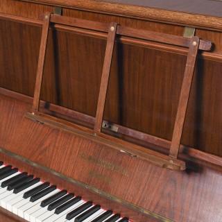Mahogany Upright Piano by Bechstein, Berlin