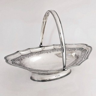 George III Silver Basket