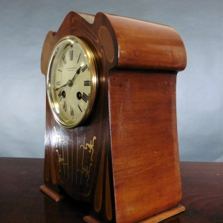 Art Nouveau Mantel Clock