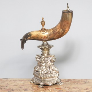 Swedish Mounted Horn Trophy
