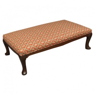 Large Low Stool by Whytock and Reid